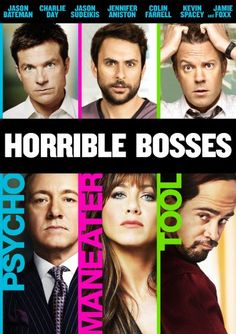 Rent Horrible Bosses starring Jason Bateman and Charlie Day on DVD and Blu-ray. Get unlimited DVD Movies & TV Shows delivered to your door with no late fees, ever. One month free trial! Funny Movies, Comedy Movies, Great Movies, Hd Movies, Movies To Watch, Movies Online, Movies And Tv Shows, Awesome Movies, Funniest Movies