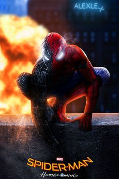Marvel's sticky hero, Spider-man is back with its awesome movie and so we brought you an amazing Spiderman Homecoming Poster Collection. Amazing Spiderman, Spiderman Movie, Batman, Marvel Comics, Marvel Heroes, Marvel Characters, Man Movies, Comic Movies, Homecoming Posters