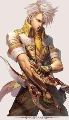 Yu Cheng Hong Character Design