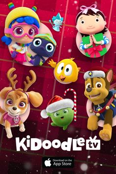 No matter where you're spending your holidays this year, enjoy unlimited free streaming for kids and families on Kidoodle.TV! Free Episodes, Activity Sheets, Kids Shows, Christmas Images, Coloring Sheets, Tis The Season, Some Fun, Fun Activities, Families