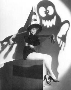 Halloween Pin-up Nancy Carroll, 1933