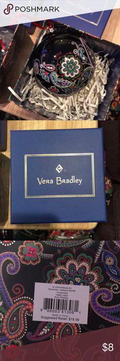 Vera Bradly 2016 ornament Brand new in box. Vera Bradley Other