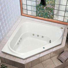 Comece o dia com um bom banho de banheira! Deixe este inverno mais quentinho! As nossas banheiras podem ser instaladas até no canto do banheiro! #Prod6820