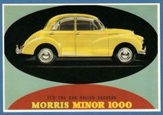 MAYFAIR OF LONDON POSTCARD ** MORRIS MINOR 1000 ** BB 612 ** | eBay