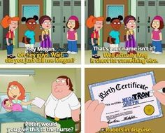 I'd like to clarify that I detest Family Guy- however, I am willing to put that aside for now because this is hilarious.