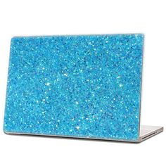 Iridescent Blue - Glitter Laptop Skin (hex .015) by IridescentBeauty, $40.00 - Love! Glamorous and affordable.
