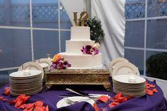 Mia + Reggie's Wedding Cake  #videoexpressproductions #wedding #weddingcake