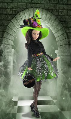 Green Witch | by Gwendolyns Treasures
