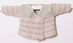 Baby Wrap Cardigan / Instructions in English / PDF instant download / 4 Sizes…