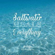 . Saltwater. Heals. Everything. . . #shellulu #saltwater #heal #aquaholic #oceanpeople #beachlover #beachlife #mermaid #swimlikeamermaid #underthesea #underwater #photograph #phototakenbyme #message #goodvibes