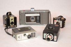 Vintage Camera Lot 8mm Land Camera Hawkeye