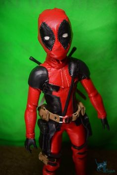 Custom Ever After High Doll OOAK Deadpool Repaint by Chelokotik  | eBay