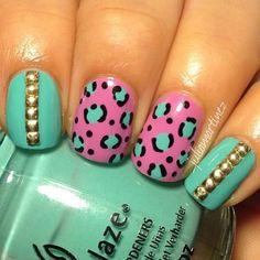 China Glaze nail polish. Nail Art.