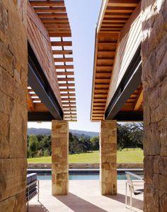 WOODSIDE RESIDENCE  in California by Walker-Warner Architects