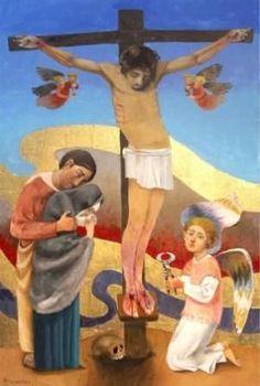 POR ARCABAS. Images Of Christ, Religion, Catholic Bible, Bible Illustrations, Spiritual Symbols, Famous Artwork, Old And New Testament, Jesus Pictures, Scripture Art