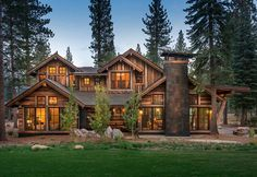 Martis Homesite 351 designed by Dennis E. Zirbel Architecture based in Truckee, California. Specializing in high-end residential and commercial projects.