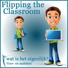 Website: Flipping the Classroom, wat is het eigenlijk? 21st Century Learning, 21st Century Skills, Flipped Classroom, School Classroom, Co Teaching, School Info, Cooperative Learning, Blended Learning, Do Homework