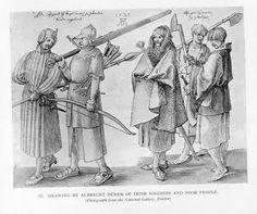 A. Dürer: Gallowglasses