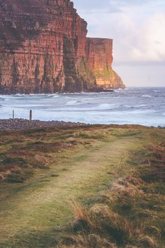The cliffs of Hoy, Orkney Islands, Scotland