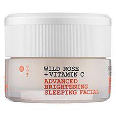 Korres - Wild Rose + Vitamin C Advanced Brightening Sleeping Facial #sephora