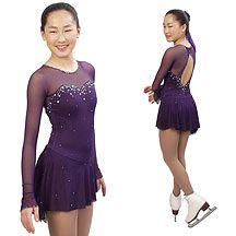 Tania Bass Figure Skating Dress. Sasha Dress Stunning dress beaded with multi-colored Swarovski crystals.