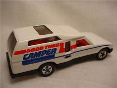 VINTAGE HOT WHEEL CAMPERS | 1983 Hot Wheels Minitrek Truck Good Time camper Mint | eBay