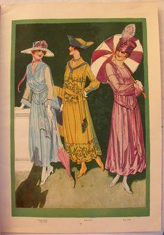 LE Miroir DES Modes MAI 1917