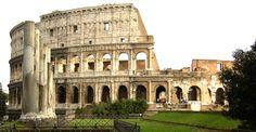 Anfiteatro:  Lugar donde los romanos acudían para ver las luchas entre gladiadores y animales. El más famoso de todo el imperio es el Coliseo