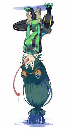 boku no hero My Hero Academia Episodes, My Hero Academia Memes, Hero Academia Characters, My Hero Academia Manga, Anime Characters, Tsuyu Asui, My Hero Academia Tsuyu, Buko No Hero Academia, Cute Anime Character