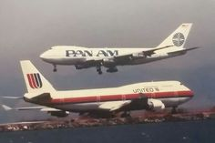 Pan Am & United Airlines 747