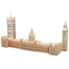 Puzzled Big Ben Wooden 3D Puzzle