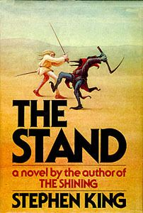 One of my all time favorites. I love the original cover! Mine is ratty and beaten up. The Stand by Stephen King