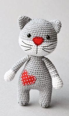 HandiCrafts Part 23 Fabulous Crochet Amigurumi Pattern Ideas! HandiCrafts Part 23 Fabulous Crochet Amigurumi Pattern Ideas! HandiCrafts Part 23 Fabulous Crochet Amigurumi Pattern Ideas! HandiCrafts Part 23 Crochet Cat Pattern, Crochet Animal Patterns, Crochet Bear, Stuffed Animal Patterns, Crochet Patterns Amigurumi, Cute Crochet, Crochet Crafts, Crochet Dolls, Crochet Projects