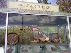 What can I say, it's the lberty bike.