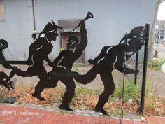 Torrent Six Sculpture - First Three