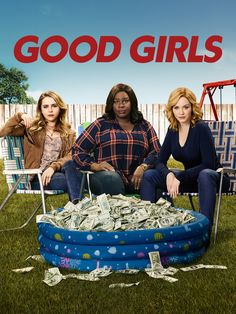 Good Girls - a new NBC show about three women who, for a variety of reasons, commit a robbery. This touches off a series of events that entrenches deeper into the criminal world. It's funny, sometimes poignant, sometimes intense. And it's Christina Hendricks and Manny Montana!