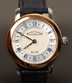 Christiaan van der Klaauw Orion (ladies) Diameter: height: lug-to-lug: March 2008 With box & papers Like new (see photos). Fine Watches, Sport Watches, Cool Watches, Watches For Men, Wrist Watches, Men's Watches, Astronomical Watch, Mens Rose Gold Watch, Expensive Watches