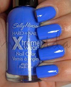 Sally Hansen- Pacific Blue - Dupe for Essie Butler Please
