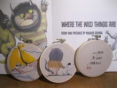 wild the wild things are. Probably my most favorite kids book ever...
