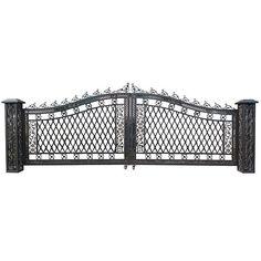 Bridgeton Moore Wide Driveway Gate - World of Decor