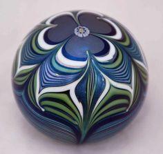 1978 Orient & Flume art glass paperweight