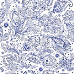 Papel de Parede Floral 1583