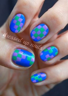 super cool nail art <3
