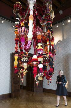 Venice Biennale 2013- Babylon' by Joana Vasconcelos