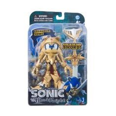 Sonic the Hedgehog - Sonic and the Black Knight Figurine - With Excalibur