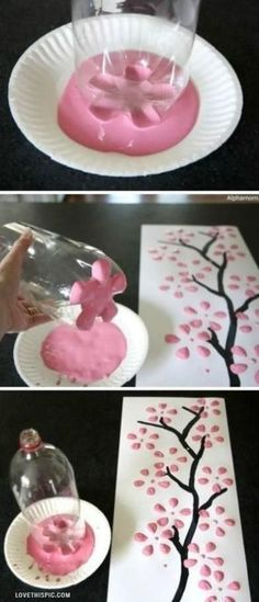 DIY Art diy crafts home made easy crafts craft idea crafts ideas diy crafts diy idea do it yourself diy projects diy craft handmade diy art craft art Kids Crafts, Cute Crafts, Crafts To Do, Easy Crafts, Craft Projects, Projects To Try, Arts And Crafts, Homemade Crafts, Kids Diy