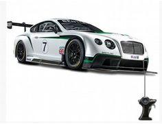 The Maisto 1/24 RC Bentley GT3 is the latest addition to the Maisto Radio Control car range.