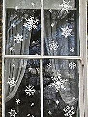klistermärken till fönster