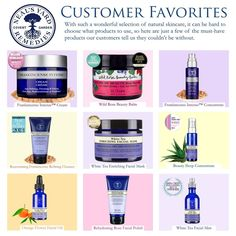 NYR Organic Customer Favorites. Shop here https://us.nyrorganic.com/shop/laurenalamb/