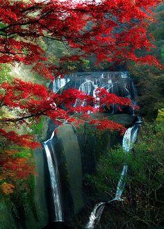 Cataratas Fukuroda, Ibaraki, Japón